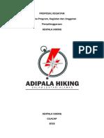 Proposal Kegiatan Pendakian Gunung