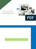 Restitution Etude Sectorielle MCI- CPNE Du 17 Mai 2013