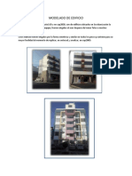 Modelado de Edificio