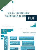 Presentación_M8T1_Introducción. Clasificación de Patología