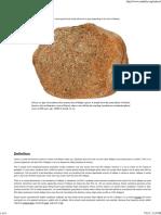 Arkose - Sedimentary Rocks