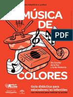 Musica de Colores. 0 3 Anos CAS