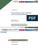 Plan de Negocios BPO, KPO e ITO
