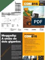 Pa Carregadeira CDM816