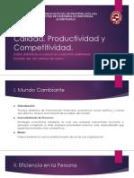 Clase02_Calidad, Productividad y Competitividad