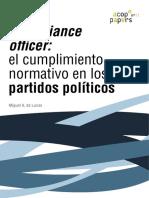ACOPPapersNº11 Oficial de Cumplimiento en Partidos Politicos