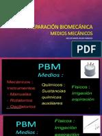 Preparación Biomecánica Medios Mecánicos