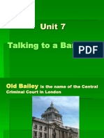 Unit 7-Talking to a Barrister