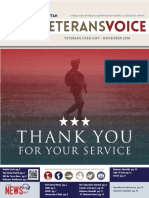 The Veterans Voice, November 2018