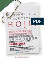 """SEMINÁRIO """"O MONGE E O EXECUTIVO... HOJE!"""""""