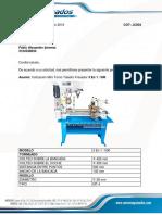 Mini Torno Taladro Fresador 3 en 1 - 500 M CIDE FABIO (1)