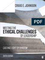(Textbook) Meeting the Ethical Challenges of Leadership Casting Light or Shadow (1)