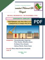 Sistemas de Protección de Cimentaciones Profundas