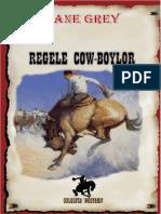 Zane Grey - Regele cow-boylor [v.2.0].doc