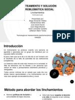 diapositivas linchamiento
