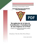 Guia de Constitucion y Formalizacion de Una Empresa