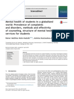 Mental Health of Students in a Globalize (1)