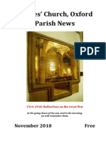 St Giles Church, Oxford November 2018 Parish News