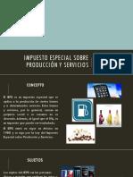 3.4 Impuesto especial sobre producción y servicios