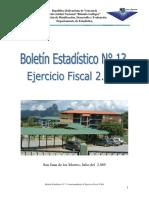 BOLETIN ESTADISTICO N° 13 2004 UNERG