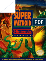 Nintendo Players Guide SNES Super Metroid 1994