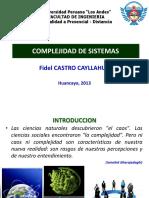 7 Complejidad de Sistemas