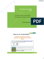Desarrollo Sustentable - Conceptos Fundamentales