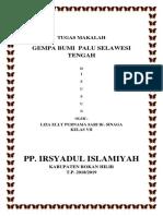 Tugas Makalah __ Gempa Donggala