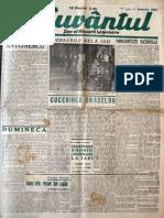 Cuvantul anul XVII (serie noua) nr. 29, 11 noemvrie 1940