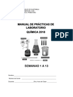 Manual de Prácticas de Laboratorio 2018 i Parte