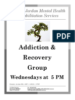 Recovery Group Flyer