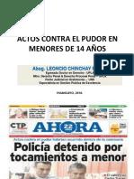 ACTOS CONTRA EL PUDOR EN MENORES DE 14 AÑOS.ppt