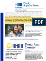 Alamogordo Family Support Group Flyer