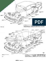 1957 Chevrolet Chevy Manual Despiece