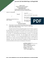 Drew Peterson v. JPMorganChase case 1:09-cv-06746 APPEALED - Justice Café - http://petersonstory.wordpress.com/