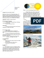 Lesson Plan Climate-latitude Altitude