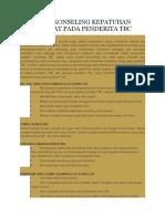 PEDOMAN KONSELING KEPATUHAN MINUM OBAT PADA PENDERITA TBC.doc