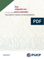 Comité de Ética Para La Investigació Con Seres Humanos y Animales - Puc - Peru