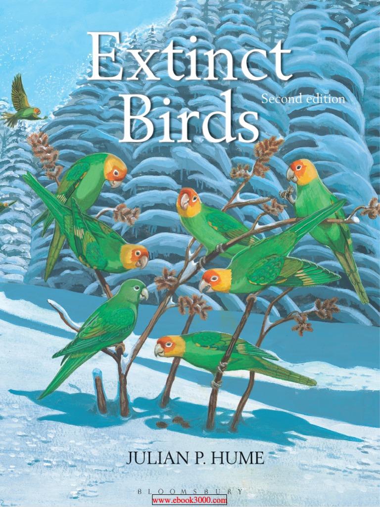 Extinct Birds 2nd Edition   Species   Genus