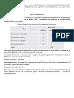 Información Para Presentación de Exanii-II