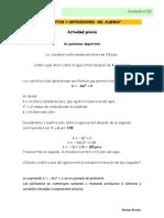 Conceptos y Definiciones Del Algebra Intepav