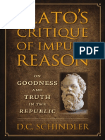 Plato's critique of Impure Reason