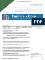 Diferencia Entre ACNEAE y ACNEE - Familia y Cole