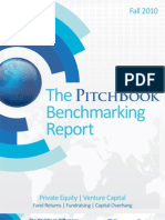 PitchBook Returns Benchmark Fall 2010