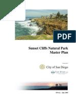 Sunset Cliffs Master Plan