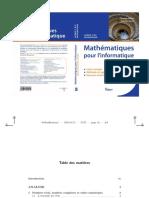 Livre Math Pour INFO