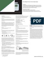 Manual de Usuario Comet Zwave BDA Eng