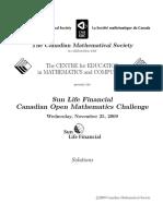 Comc2009 Official Solutions En