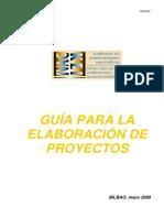 Guía Para La Elaboración de Proyectos_Instituto Vasco