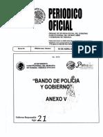 Bando de Policia y Gobierno 2016 2018paraiso